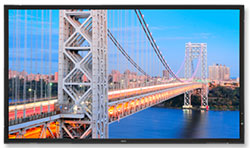 NEC Adds 46-Inch and 52-Inch to Super-Slim Line