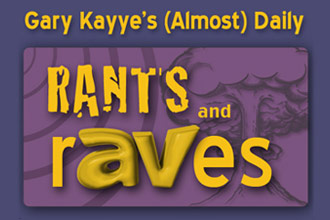 Rants and rAVes — Episode 328: A Fun Fundraiser for our Podcast Partner cAValry Rides