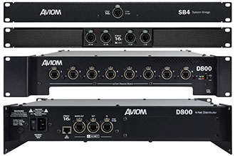 Aviom 16-Channel Personal Mixer Introduced