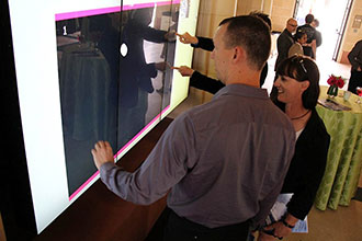 MultiTouch and USC School of Cinematic Arts Unveil Largest University Interactive Display Installation in North America