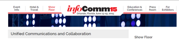 UCC and the Road To InfoComm 2015