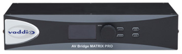 Vaddio's AV Bridge MATRIX PRO Ships