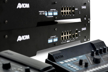 Aviom Ships the D400 and D400-Dante A-Net Distributors