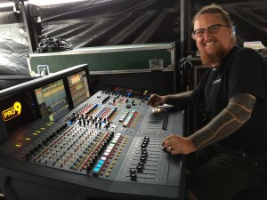 Earthworks Mics Help Umphrey's McGee FOH Engineer Chris Mitchell Eliminate Corrective EQ