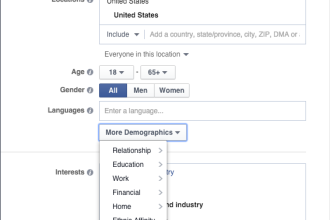 It's Social Marketing: Facebook Advertising and Defining Your Audience