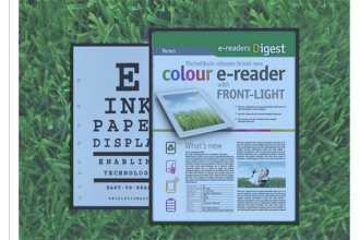 GDS Announces Color Digital Poster Using E Ink epaper Technology