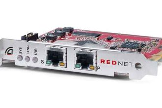 RedNet PCIeR Card for Dante Networks Claims Low Latency, Network Redundancy