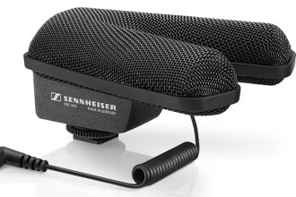 Sennheiser MKE 440 Camera Microphone Employs Technique to Match Sound and Picture