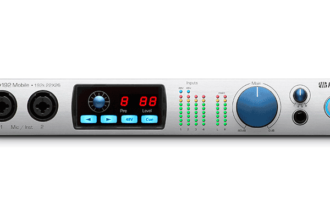 PreSonus Ships Studio 192 Mobile Audio Interface/Studio Command Center