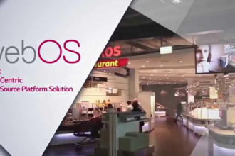 LG webOS for Signage Platform Has been Extended