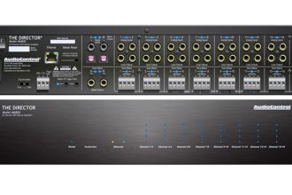 AudioControl Ships The Director Model M6800 16-Channel High-Power Amplifier With DSP