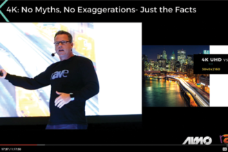 Gary Kayye's 4K Keynote: The 1080p Video Stream Version – Worth 1.5 InfoComm CTS RU Credits, too!