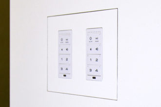 Autonomic Announces Flush Mount Kits for KP-6 Keypad Now Available from Wall-Smart