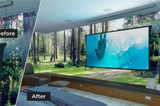"Screen Innovations' Zero-G ""Rollable TV"" Available in New Colors"