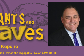Rants and rAVes — Episode 632: Special InfoComm Videocast: Wolfvision Demos the Cynap 365 Live on rAVe RADIO