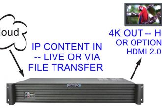 DVEO Launches 4K Ultra HD H.265/HEVC Live Video Decoder & Server for Video Walls, Digital Signage & Production