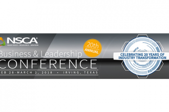 Registration Open for NSCA's 20th annual Business & Leadership Conference
