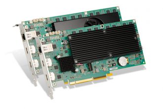Matrox Premieres Mura IPX DisplayPort 1.2 Capture Cards for 4K60 Video and Graphics-Rich Display Wall Applications