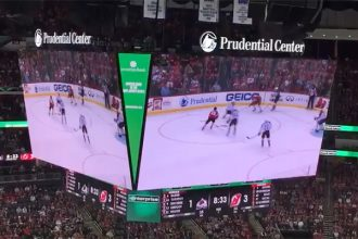 Trans-Lux and Absen Can Both Claim World's Largest Indoor Arena Scoreboard
