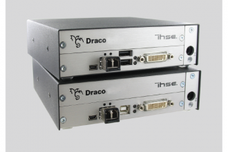 IHSE Adds Dual-Head/Dual-Link DVI Extenders for Draco Series KVM Systems