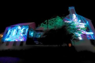 Christie sponsoring Digital Graffiti at Alys Beach