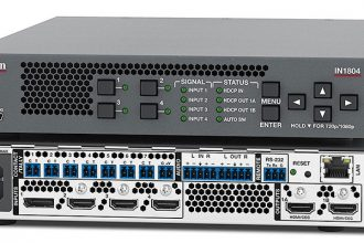 Extron Intros IN1804 Series of 4K/60 Seamless Scaling Switchers