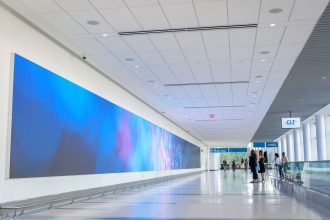 NanoLumens Fuses Technology, Art and Design with Stunning Results at Charlotte Douglas International Airport