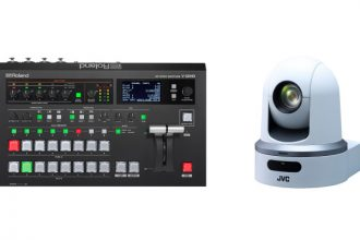 Roland Pro AV and JVC Pro Video Collaborate on Camera Control